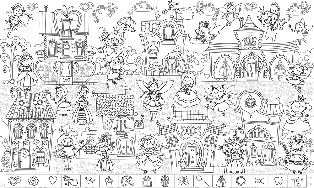 Раскраски для детей купить в москве