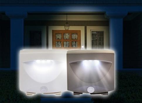 Светильник с датчиком света и движения