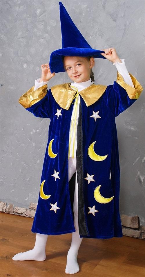 Новогодний костюм волшебника своими руками фото
