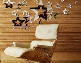 Декоративное акриловое зеркало Плеяда Звезд фото