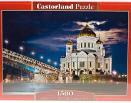 Пазл Храм Спасителя на 1500 элементов фото