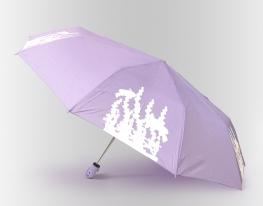 Зонт Антишторм меняющий цвет Рыбка фото