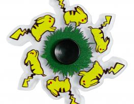 Игрушка антистресс спиннер с динамичным рисунком Пикачу фото 1