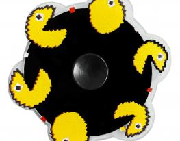 Игрушка антистресс спиннер с динамичным рисунком Pac-Man фото 1