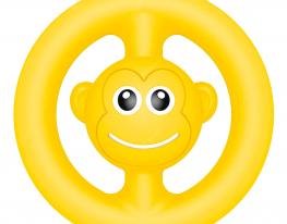 Игрушка антистресс ПОП Ит snapperz пищалка жёлтая фото 1