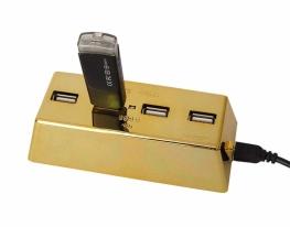 Слиток золота USB hub фото