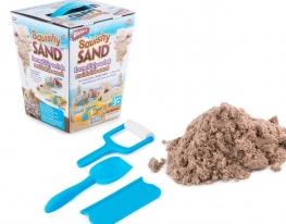 Кинетический песок Squishy Sand с лопаткой, роликом, ножом фото