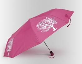 Зонт Антишторм меняющий цвет Дерево фото