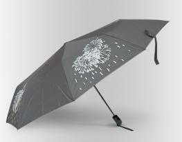 "Зонт Антишторм меняющий цвет ""Феерверк"" фото"