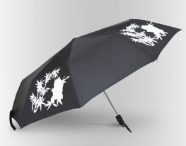 Зонт Антишторм меняющий цвет Панда фото