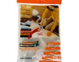 Вакуумный пакет для хранения вещей 50х60 фото 1