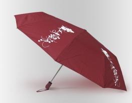 Зонт Антишторм меняющий цвет Ягоды фото