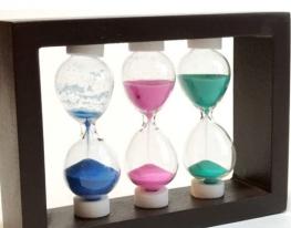 Оригинальный сувенир Декоративные песочные часы тройные фото, цена, купить