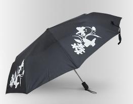 Зонт Антишторм меняющий цвет Бабочка фото