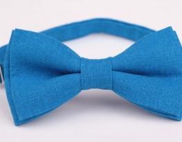Бабочка льняная Синяя волна фото