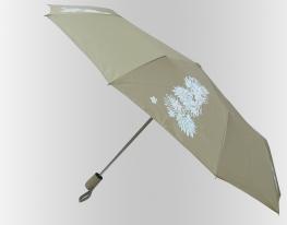 Зонт Антишторм меняющий цвет Бежевые Листики фото