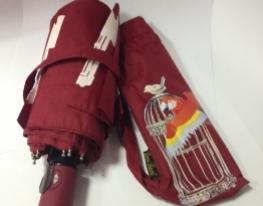 Зонт Антишторм меняющий цвет Попугай фото