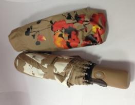 Зонт Антишторм меняющий цвет Мак фото