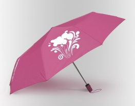 Зонт Антишторм меняющий цвет Шарики фото