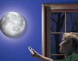 Светильник - ночник Луна на стену фото