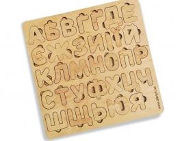Деревянная Азбука Украинские буквы фото 4