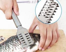 Скребок для чистки рыбы фото
