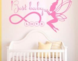 Виниловая наклейка на стену Best baby love фото