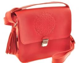 Бохо-сумка Лилу корал