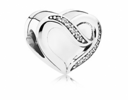 Бусина Pandora Лента любви