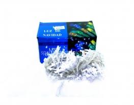 Гирлянда светодиодная LED 400 белый провод Белая фото