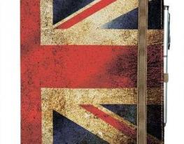 Блокнот на резинке Rainbow Флаг Англии фото