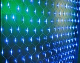 Гирлянда сетка 120 led белый провод
