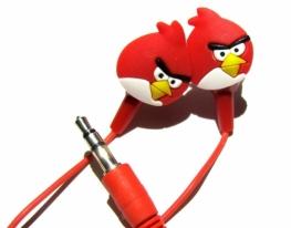 Наушники Angry Birds фото