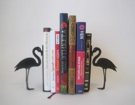 Интерьерный книгодержатель Фламинго фото
