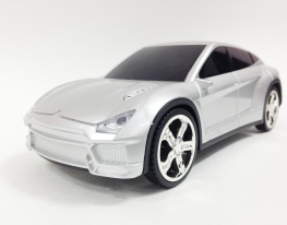 Машинка Citroen (колонка, плеер mp3, радио) silver фото