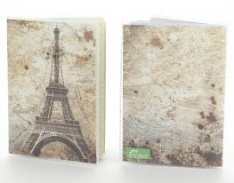 Обложка виниловая на паспорт Париж фото
