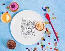 Тарелка Голодные Сурикаты фото