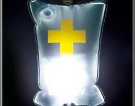 USB светильник-ночник Капельница фото