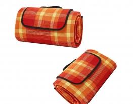 Коврик - подстилка пляжный и для пикника Оранжевый фото
