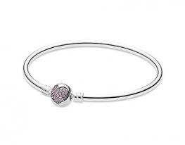 купить Серебряный браслет Pandora Круг любви