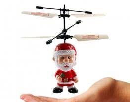 Летающая игрушка Дед Мороз с пультом фото