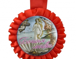 Медаль Богиня любви фото