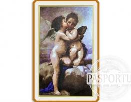 Набор для вышивки картины Ангелочки 133х84см фото