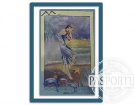 Набор для вышивки картины Морская Дева 77х54см фото