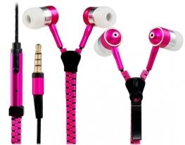 Наушники на молнии Zipper Earphones фото