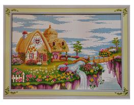 Набор для вышивки картины Сказочная Страна 66х48см фото