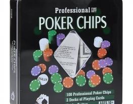 Покерный набор Professional Poker Chips 100 фото
