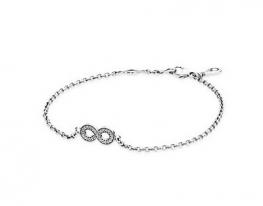 Серебряный браслет Pandora Бесконечность
