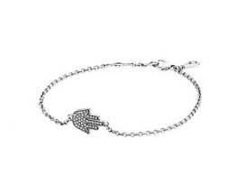 купить Серебряный браслет Pandora Рука Хамса