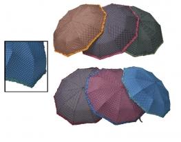 Зонт Антишторм с рюшами Ferrero Синий фото